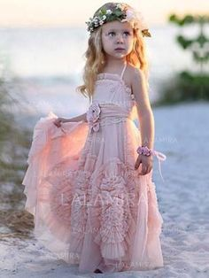 [US$ 75.97] A-Line/Princess Square Neckline Floor-length With Flower(s) Chiffon Flower Girl Dresses Princess Flower Girl Dresses, Cheap Flower Girl Dresses, Girls Dresses, Classy Evening Gowns, Best Formal Dresses, Tulle Ball Gown, Perfect Prom Dress, Bridesmaid Dresses, Wedding Dresses