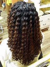 Image result for very short spiral perm