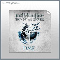 Celldweller - Time 5x5 Sticker