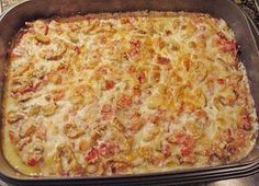 Schnitzel Försterinnen – Art aus dem Backofen Schnitzel foresters – kind from the oven, a tasty recipe from the category baking. Pork Recipes, Snack Recipes, Drink Recipes, Pampered Chef, Food Pictures, Finger Foods, Macaroni And Cheese, Healthy Snacks, Easy Snacks