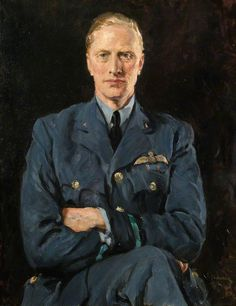 Portrait of Sir Harald Peake c. 1941 by Thomas Cantrell Dugdale (British Military Art, Military History, Cthulhu, Your Paintings, Beautiful Paintings, Pinturas Art Deco, English Artists, Best Portraits, Art Uk