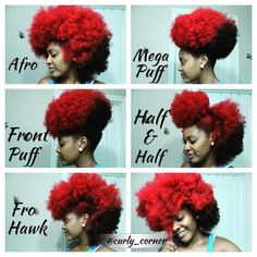 Natural Hair. If you can confidently rock this......you are my hair hero!!