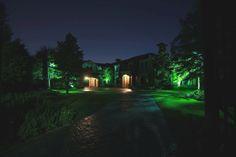 Dallas landscape lighting- Private Estate
