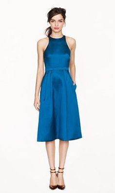Collection twill flare dress - A Very Secret Pinterest Sale: 25% off any order at jcrew for 48 hours with code SECRET