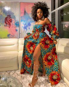 Rema Ankara Gown