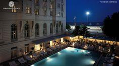 Copacabana Palace Hotel by Orient Express, Rio de Janeiro, Brazil    Iconic beach front hotel