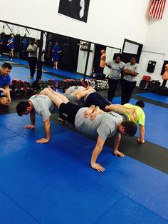 Muay Thai foundations class. Conditioning fun times. The Academy. Brooklyn Center, Minnesota. Muay Thai, BJJ, Kali, Mixed Martial Arts, Judo, JKD, Self Defence www.theacademymn.com/ @mmaacombatzone #theacademymn #teamacademy #theacademy #martialarts #martialartsgyms