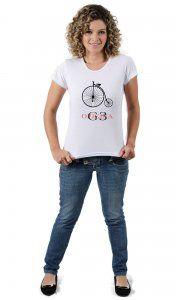 Camiseta Oficina G3 Histórias e Bicicletas