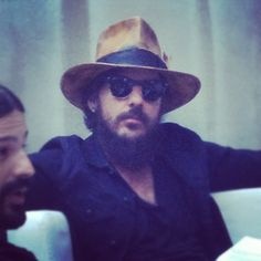 Shannon Leto. I don't care that he looks like an Amish man. And I want his hat.
