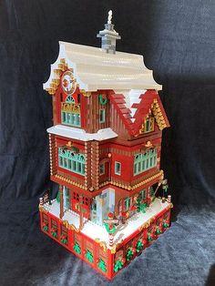 Santa's Workshop at the North Pole | Advent calendar house | Flickr