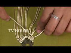 Diamond Earrings / Diamond Studs in Gold / Evil Eye Diamond Earrings / Evil Eye Jewelry / Gold Jewelry / Gift for Her - Fine Jewelry Ideas Macrame Colar, Macrame Necklace, Macrame Bracelets, Chain Bracelets, Necklaces, Pendant Necklace, Macrame Earrings Tutorial, Earring Tutorial, Diy Earrings Easy