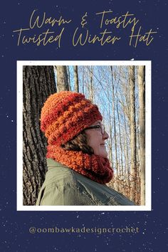 November Hat - Warm and Toasty Winter Hat