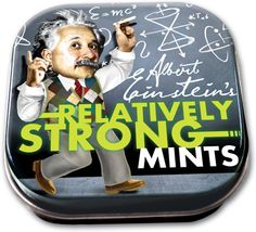 Einstein Relatively Strong Mints | Physics science experiments, teaching & education tools: Educational Innovations