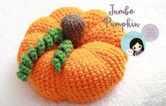 It's pumpkin season! I had a dream that I had my very own pumpkin patch in my backyard, only it was all crocheted pumpkins! So, when I woke up (back to reality!), I thought, why not make a mo…