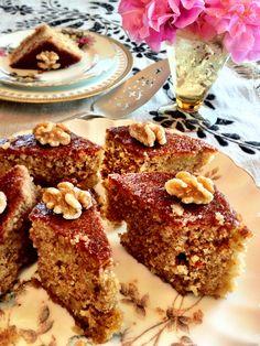 Greek Walnut Cake with Syrup