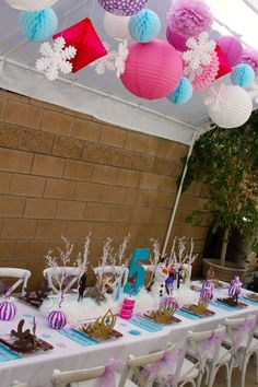 Frozen Birthday Party Ideas | Photo 1 of 21 | Catch My Party