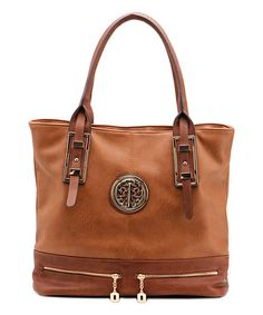 Another great find on #zulily! Brown Isabelle Tote #zulilyfinds