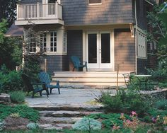 Wood FRONT DECK Design, Pictures, Remodel, Decor and Ideas - page 5