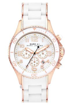 Marc by Marc Jacobs  -   Bracelet Watch  -  White/Rose Gold