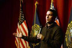 Scott Walker's gloomy pitch for the presidency