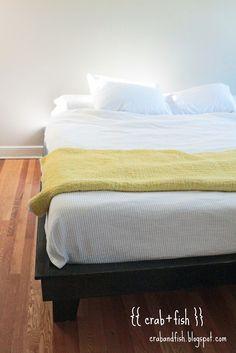 {{ crab+fish }}: diy platform bed