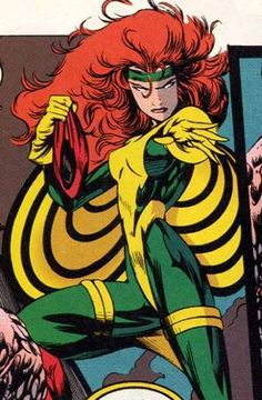 Theresa Cassidy a.k.a. Siryn from the Marvel Universe.