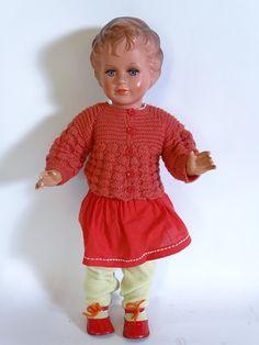 Antike große original Schildkröt 64cm Puppe mit passender Kleidung | eBay