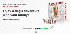 A Dog's Life Board Game Coming To Kickstarter  http://www.tabletopgamingnews.com/a-dogs-life-board-game-coming-to-kickstarter/