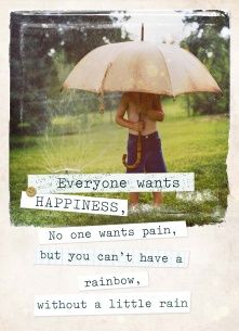Lifestyle Quotes kaart - rainbow-without-rain