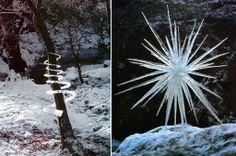 #Icespiral #Icestar #esculturas #efímeras #hielo. #AndyGoldsworthy