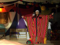 Manta tradicional de una Majayura (Princesa Wayuu)