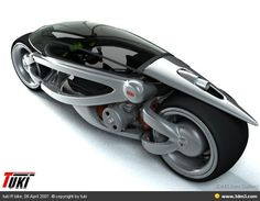 Motorcycle concept designed by Tuki.