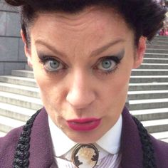 But before I bring about the end of humanity let me take a selfie...  #DoctorWho #Missy