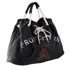 Arizona Diamondbacks MLB Sport Noir Hoodie Tote