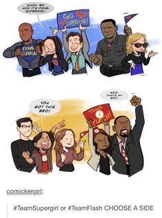 CUTE!!!! :))))<<< Sorry I have to be on team supergirl