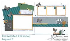The Scrap Zone: Documented Scrapbooking Workshop