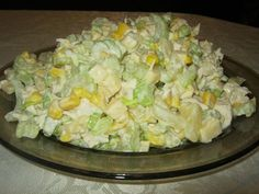 Sałatka z selera naciowego Polish Recipes, Mozzarella, Allrecipes, Potato Salad, Salad Recipes, Tapas, Cabbage, Food And Drink, Cooking Recipes