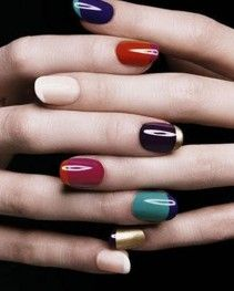 Love it! I think you can wear anything with these nails!!