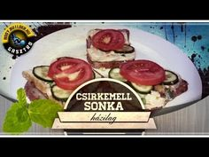 Csirkemell sonka házilag Tacos, Mexican, Beef, Ethnic Recipes, Food, Youtube, Meal, Essen, Hoods