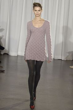 Making Things: So you want to knit a sweater dress...