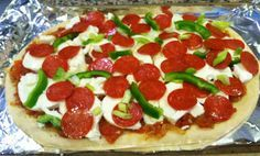 Home-made Pizza ~ Easy Cooking