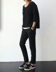 Not all aspects of it, but I love the pants and the knit.