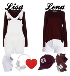 """Lisa or Lena"" by fu110fcreativity ❤ liked on Polyvore featuring Barbour International, Ballantyne, WearAll, adidas, Reebok, Frends and Top of the World"