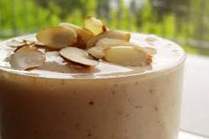 A rejuvenating almond and date shake.  Great for boosting energy, immunity and overall vitality.