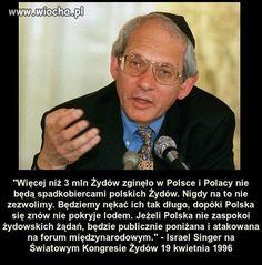 """Jacek Międlar na Twitterze: """"Metoda skuteczna. Przedstawianie Polski na świecie jako zezwierzęconych antysemitów, dla żydów ma ogromny sens! Świat się nie upomni, gdy żydowska dzicz, nie respektując prawa cywilizowanych ludzi, zabierze polskie mienie. Kto będzie protestował, gdy okradane są zwierzęta?"""" Mirrored Sunglasses, Funny Quotes, Singer, Shit Happens, Statistics, Ancient History, Brick, Poland, Fotografia"""