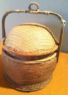 Vintage Beautiful Basket