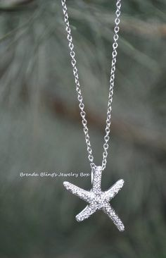 Starfish Necklace. One of my favorite go-to pieces this time of the year and through outthe summer!  Love it!