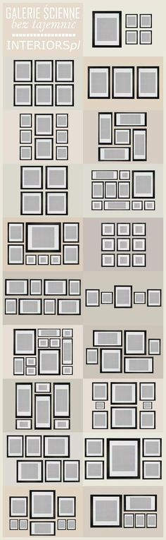 Gallery Wall Inspiration and Tips - Home Decor - Home Deco Decorating Tips, Decorating Your Home, Diy Home Decor, Interior Decorating, Apartments Decorating, Hallway Decorating, Decorating Frames, Summer Decorating, Thrifty Decor