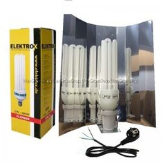 CFL / Low Energy Kit 200W Red-2700k. #growkits