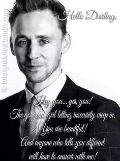 Inspirational Tom<< this made me really happy :) I'm pretty sure that I blushed reading it lol